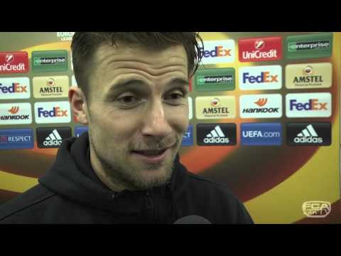 Interviews nach Europa-League-Sieg in Belgrad