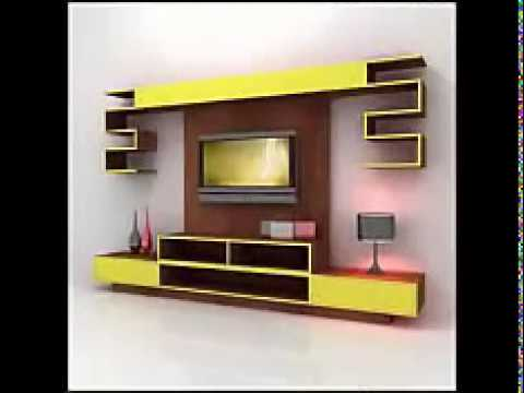 Best Tv wall cabinet design ideas for you - YouTube
