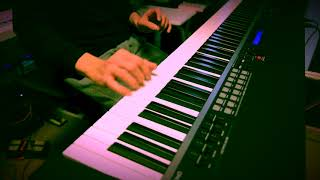 Nobuo plays: Piano, Keyboards, Guitar, Bass & Drum Programming 源さ...