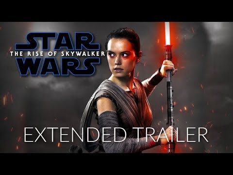 Star Wars 9: The Rise of Skywalker - EXTENDED TRAILER - Daisy Ridley, Adam Driver
