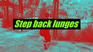 Suspension Training Series #8 - Step back lunges
