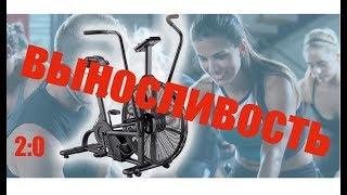 НЕ Человеческая ВЫНОСЛИВОСТЬ - Air Bike-  по НАУКЕ - Интервальное КАРДИО