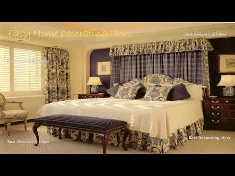 Curtain Ideas for Main Bedroom | Image ideas for modern interior window design decoration for