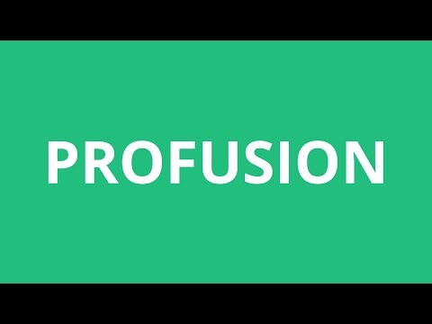 How To Pronounce Profusion - Pronunciation Academy