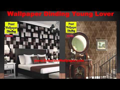 Wallpaper Dinding Rumah, Cara Pasang Wallpaper