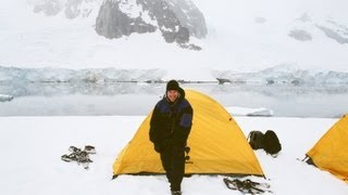 Camping Out In Antarctica (With Commentary)