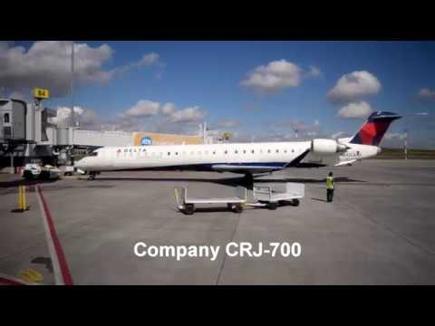 TRIP REPORT!! | Delta Airlines First Class | Edmonton to Seattle on a CRJ-700