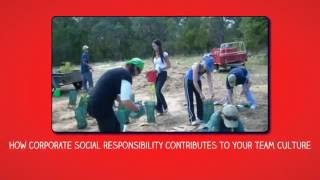 How corporate social responsibility contributes to your team culture