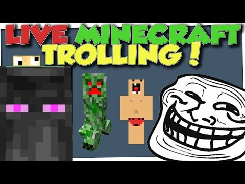 Minecraft Trolling - LIVE SERVER TROLLING & MINECON 2016 CAPE GIVEAWAY CONTEST!