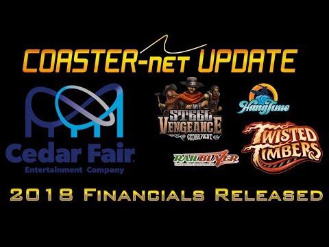 2018 Cedar Fair Financials Revealed & a New Direction - COASTER-net Update