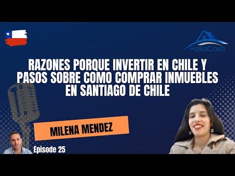 Comprar Inmuebles En Santiago De Chile Con Milena Mendez