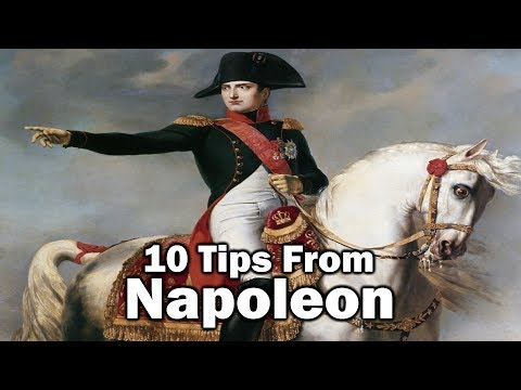 10 Tips From Napoleon