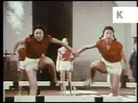 1970s China, Athletes Training, Athletics, Sports, Rare Archive Footage
