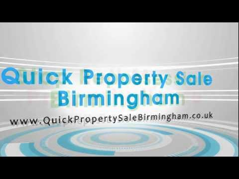 Quick property sale Birmingham