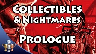 Wolfenstein The Old Blood Collectibles [Prologue - German Alps] Gold, Letters & Nightmare