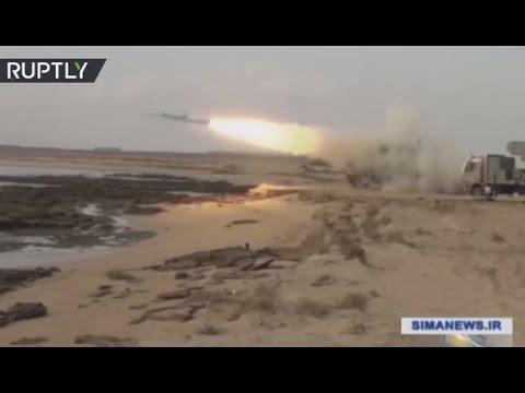 'Velayat 95': Iran test-fires new anti-ship missile during naval drills