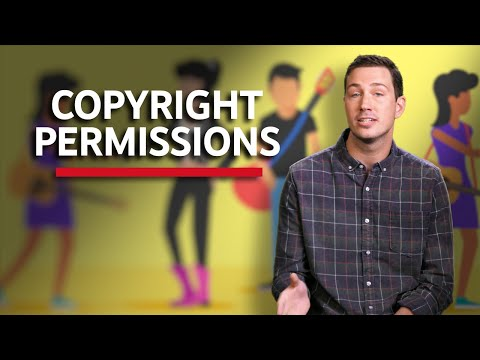 Copyright Permissions - Copyright on YouTube
