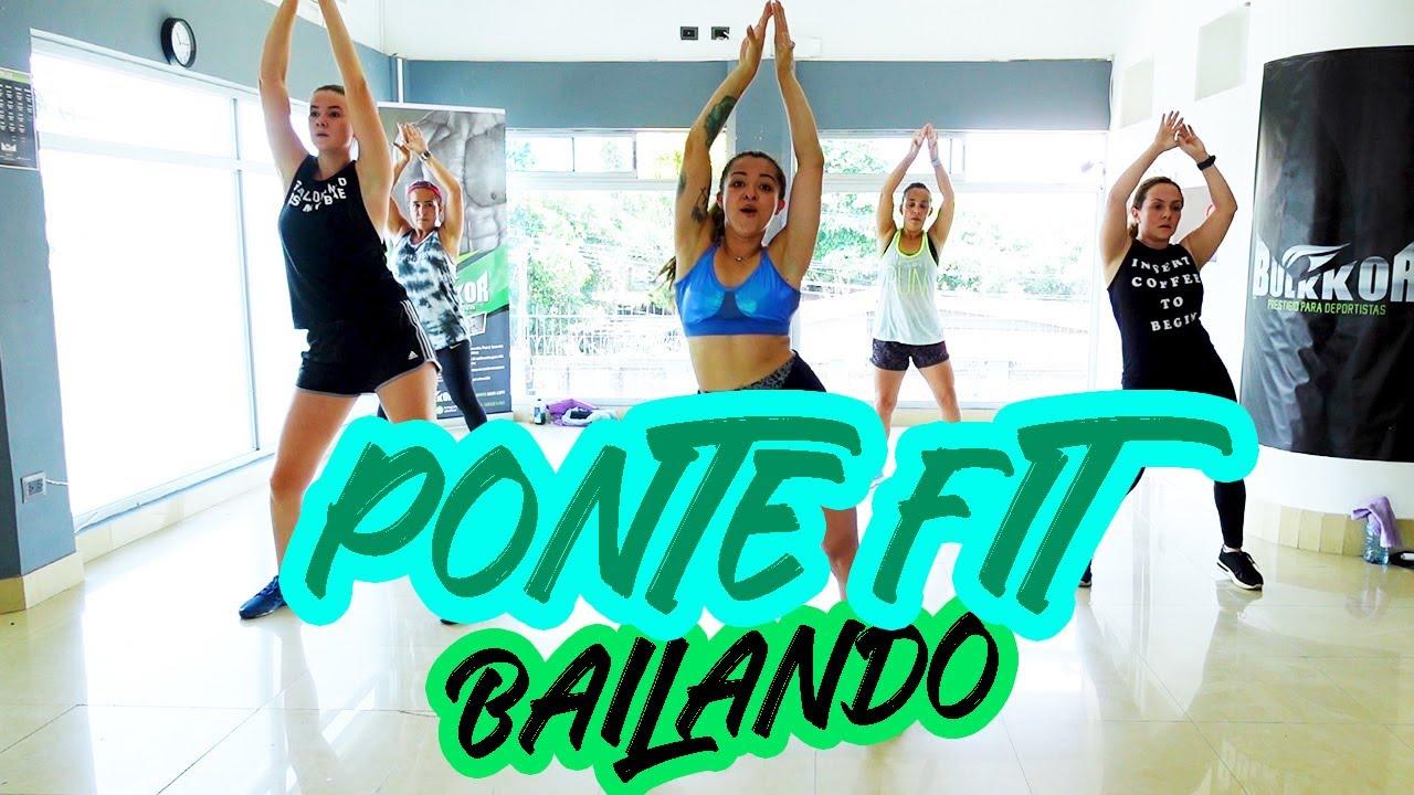 PONTE FIT BAILANDO en CASA - Cardio Dance #66- Non stop Zumba Class - Natalia Vanq