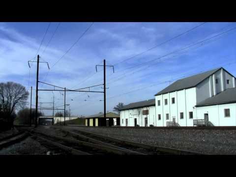Amtrak Heritage #156 on Pennsylvanian Train 42 12/03/11