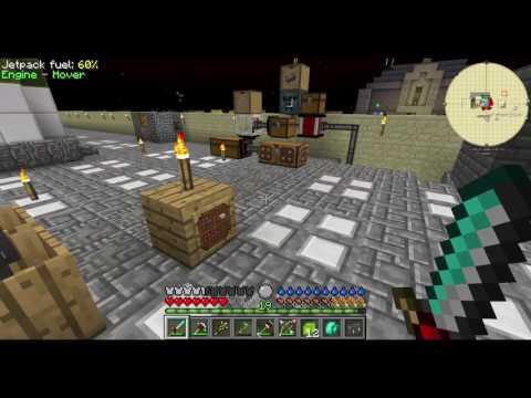 Cool Wither spawner build - Forever Stranded - Modded Minecraft Lets play - episode 22