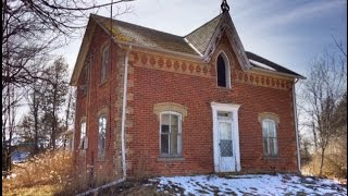Urban Exploration: Gothic Revival Style Abandoned Farm House #2