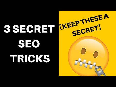 3 KILLER Secret SEO Tricks You Didn't Know About (Skyrocket Your Traffic)