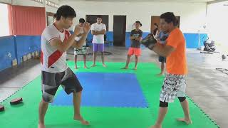 Muay Thai - Super man punch variante Paso a Paso -  como golpear