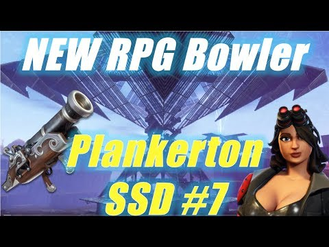 NEW RPG Bowler, Soloing SSD #7 In Plankerton; Fortnite Save The World