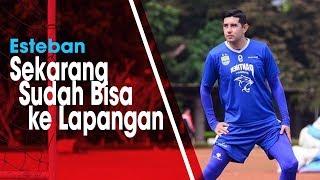 Download Video Lakukan Aktivitas Recovery, Esteban Vizcarra Kembali Ikut Latihan Persib Bandung MP3 3GP MP4