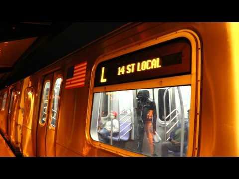 MTA New York City Subway : 8th Avenue-14th Street Bound R160A-1 L Train @ Atlantic Avenue