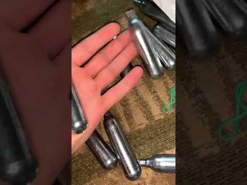 Балончик CO2 для пневматичної зброї 12 г Borner