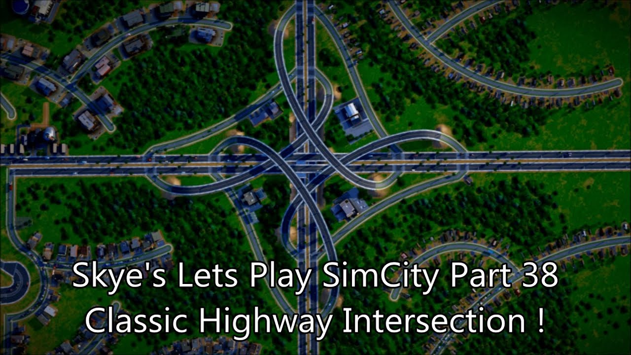 Simcity 5  2013   38 How To Build A Classic 4 Way Stacked