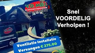 Mechanische Ventilatie Mv Box Reinigen (0614786157) Cruquius, Haarlemmermeer NL-NH
