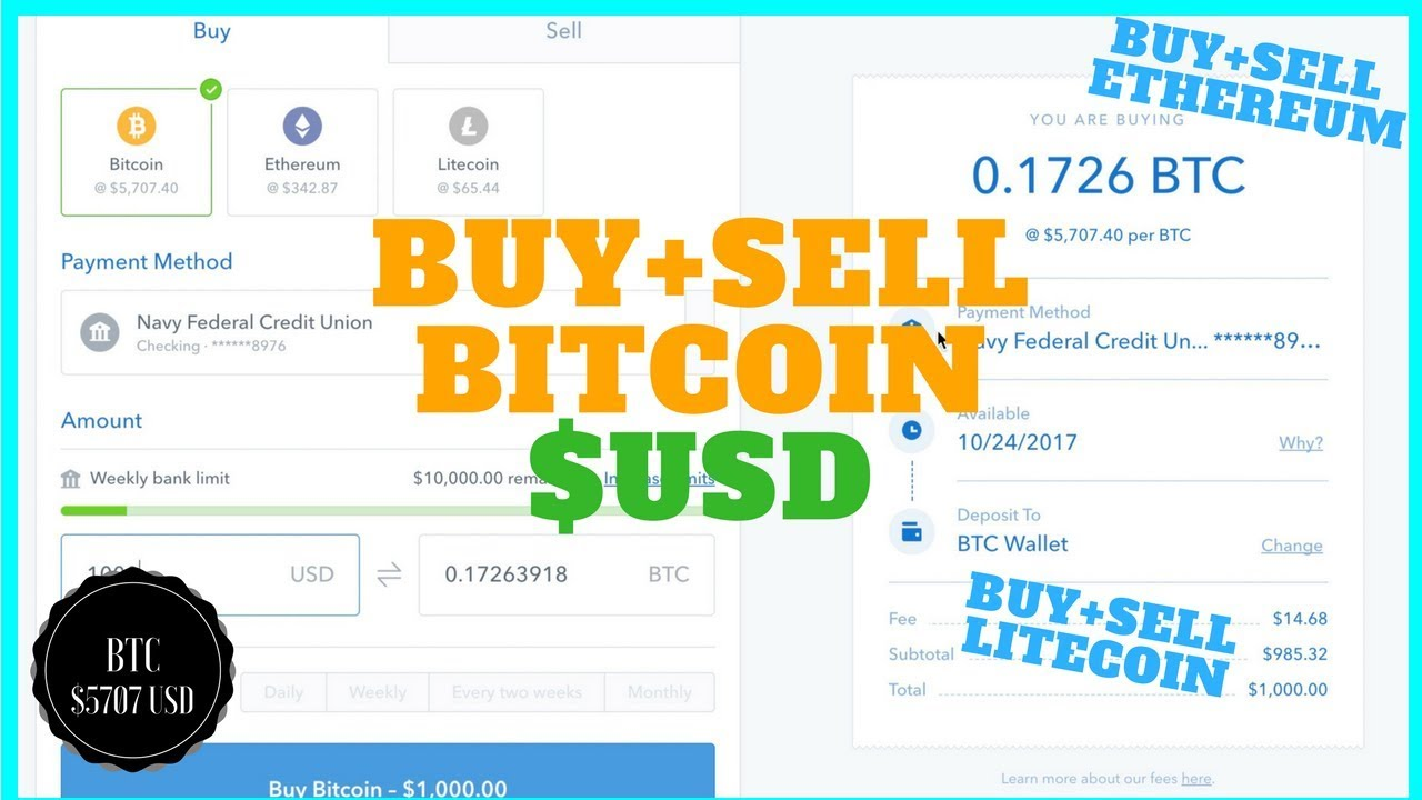 Easiest Way To And Bitcoin With Us Dollars Btc Usd Ethereum Litecoin