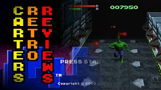 Carters Retro Reviews - The Incredible Hulk: The Pantheon Saga / Sega Saturn