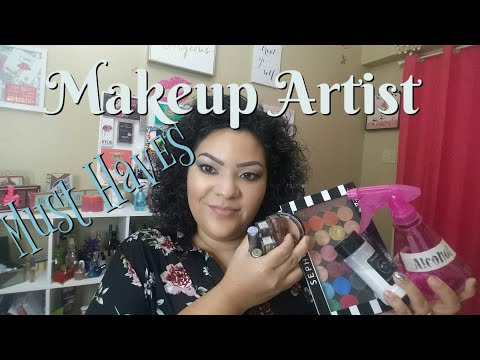 Makeup Artist Must Haves /My Must Haves