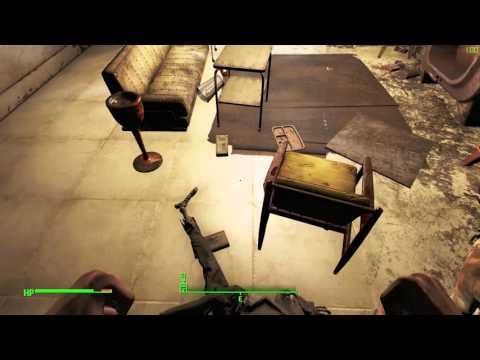 Fallout 4 - General Atomics Factory 3 Room Safe Puzzle