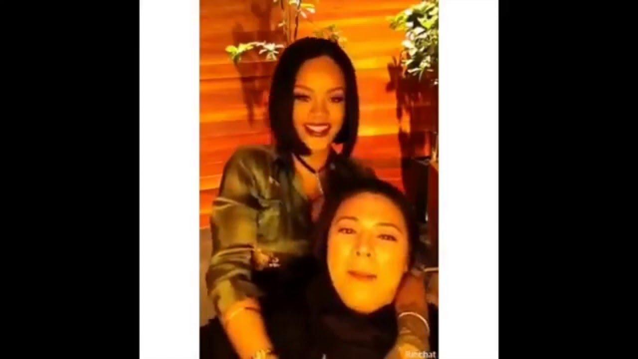 Rihanna | Snapchat Videos | November 27th 2016 - YouTube