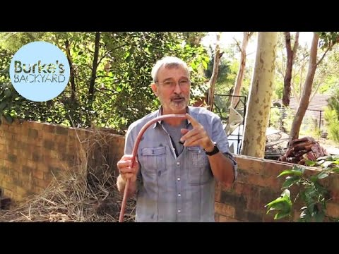 Burke's Backyard, Safe non-toxic garden hoses you can drink from