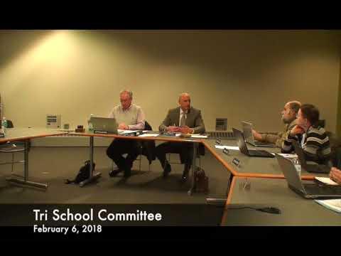 Tri School Committee 02.06.18