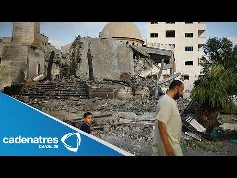 Recuento Del Conflicto Entre Israelíes Y Palestinos En Gaza