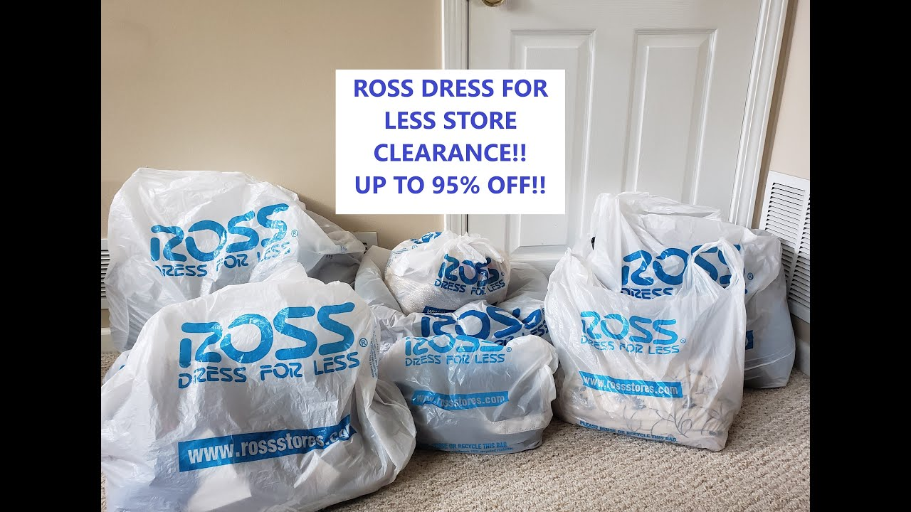 ROSS DRESS FOR LESS STORE CLEARANCE! UP TO 95% OFF!! LOTS OF NAME BRAND ITEMS!!