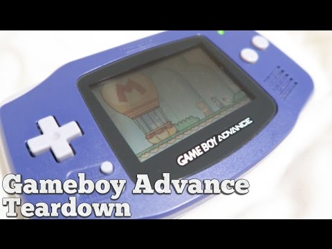 Let's Refurb - Gameboy Advance Teardown