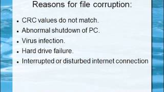 How to repair corrupted zip files?