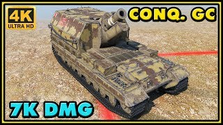 Conqueror GC - 7 Kills - 7K Damage - World of Tanks Gameplay