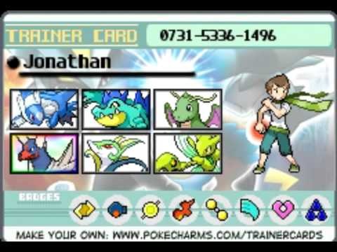 Pokecharm Trainer Card Youtube