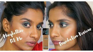 Maybelline Fit Me Foundation 330 332 Review and Wear Test Anusha Swamy