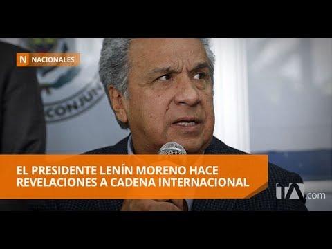 "Moreno: ""Se falló en confiar en la palabra de un criminal"" - Teleamazonas"