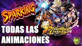 SPARKING ASEGURADO!? DONDE,COMO Y CUANDO /// DRAGON BALL LEGENDS en ESPAÑOL