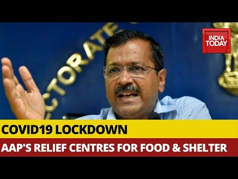 Covid19 Lockdown: APP Arranges Relief Centres For Food & Shelter Through Customised Google Map